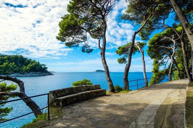 Een goed voorbeeld van de schitterende kust van Dalmatië