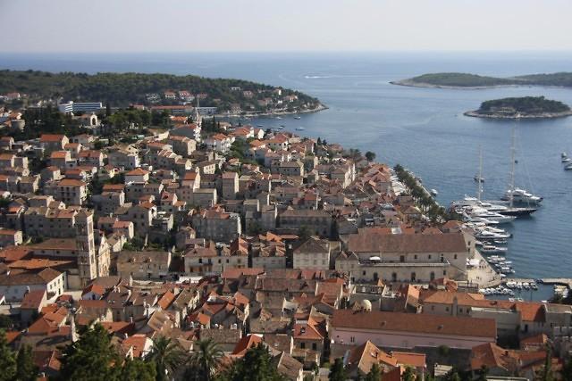 Hvar, de grootste stad van het gelijknamige eiland