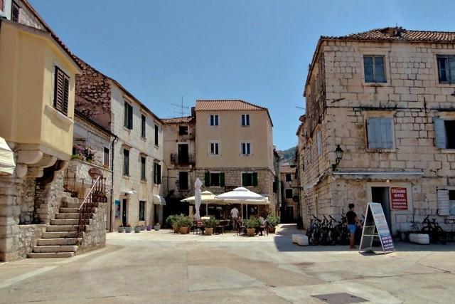 De historische binnenstad van Stari Grad