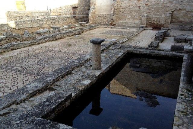 Je vindt in Istrië ook veel oude ruïnes