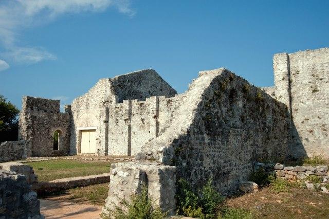 Romeinse ruïnes bij Omišalj