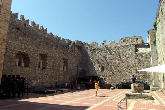 Het kasteel van Krk