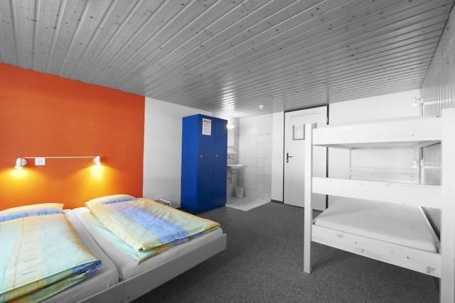 In hostels deel je met andere reizigers