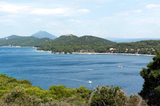 De baai van Lošinj