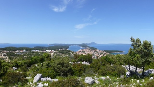 Het eiland Lošinj