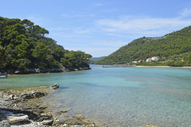 Het Kroatische eiland Mljet
