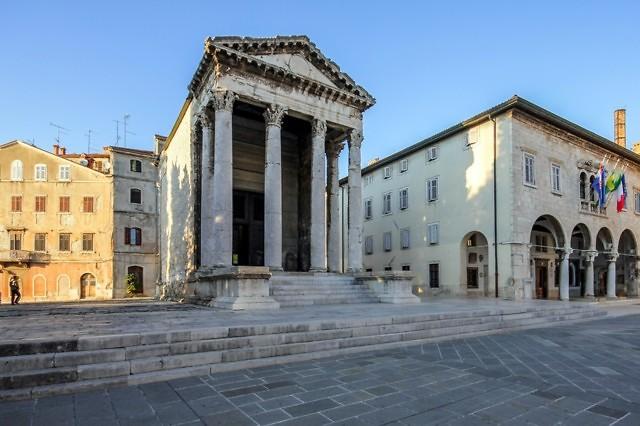 Het Forum met de Tempel van Augustus