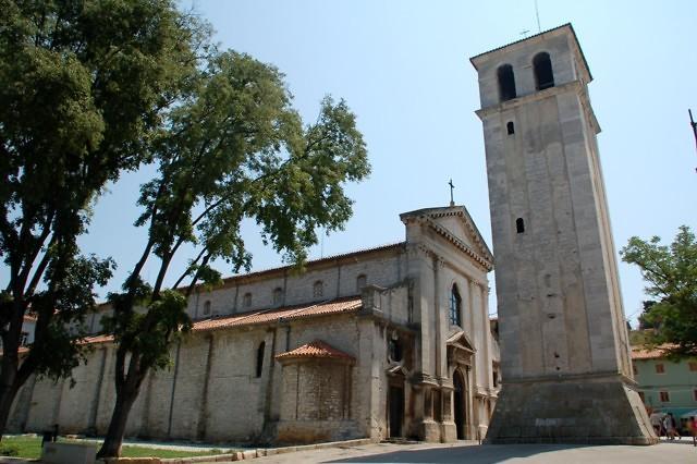 De kathedraal van Pula