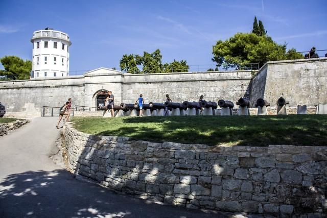 Het Venetiaanse fort van Pula