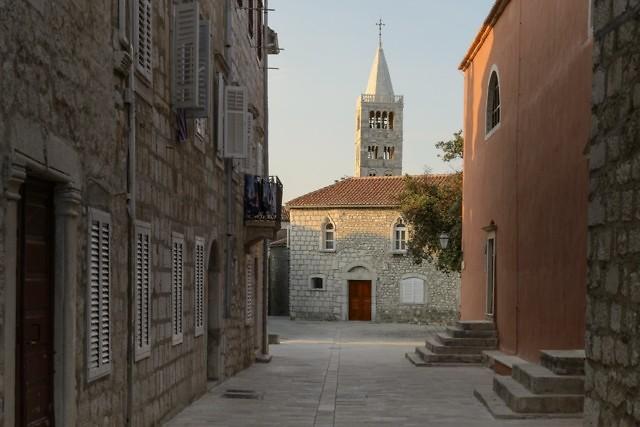 Het historische centrum van Rab