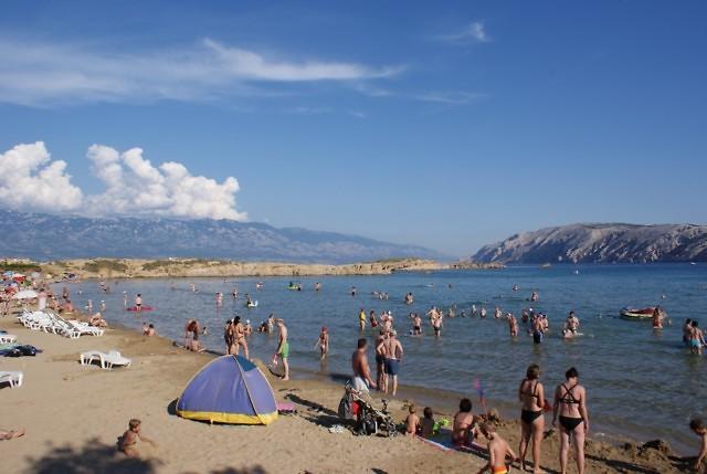 Een van de stranden van Lopar
