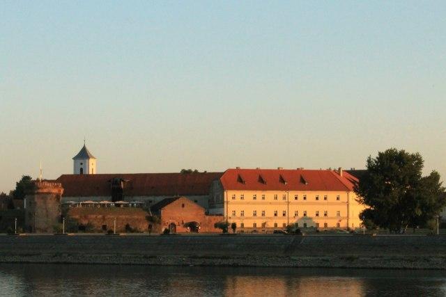 De citadel van Osijek