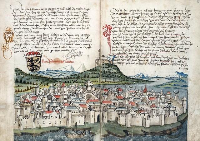 Zadar in de middeleeuwen