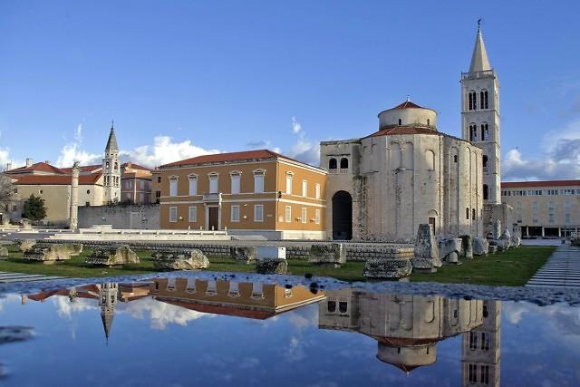 De kerk van St. Donatus op het Forum