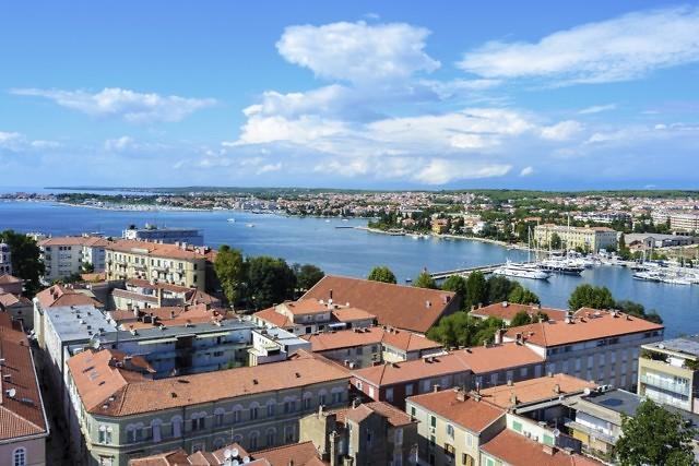 Uitzicht vanaf de toren van de kathedraal