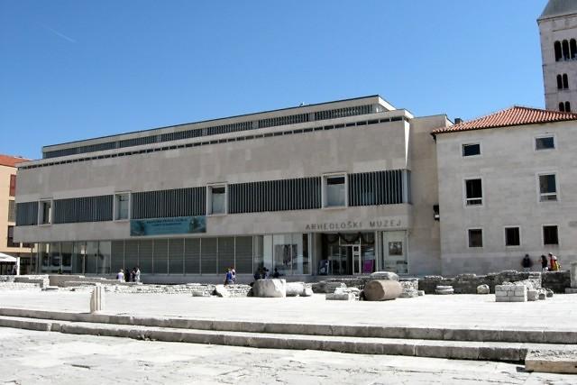 Het Archeologisch Museum van Zadar
